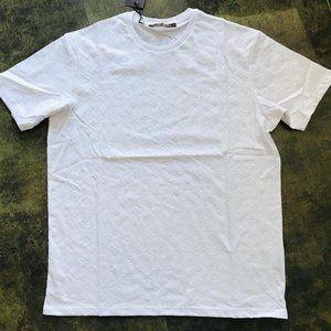 Louis Vuitton Casual T-shirt Men's  Cotton